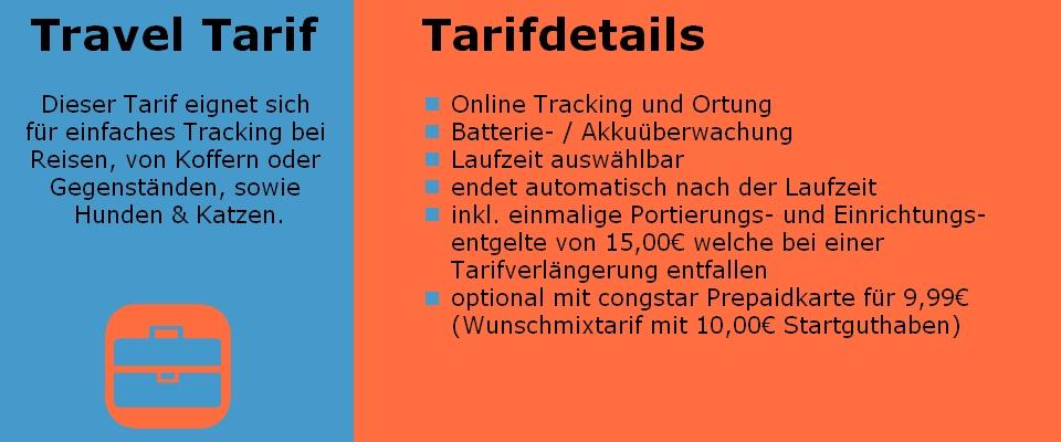 Travel Tarif